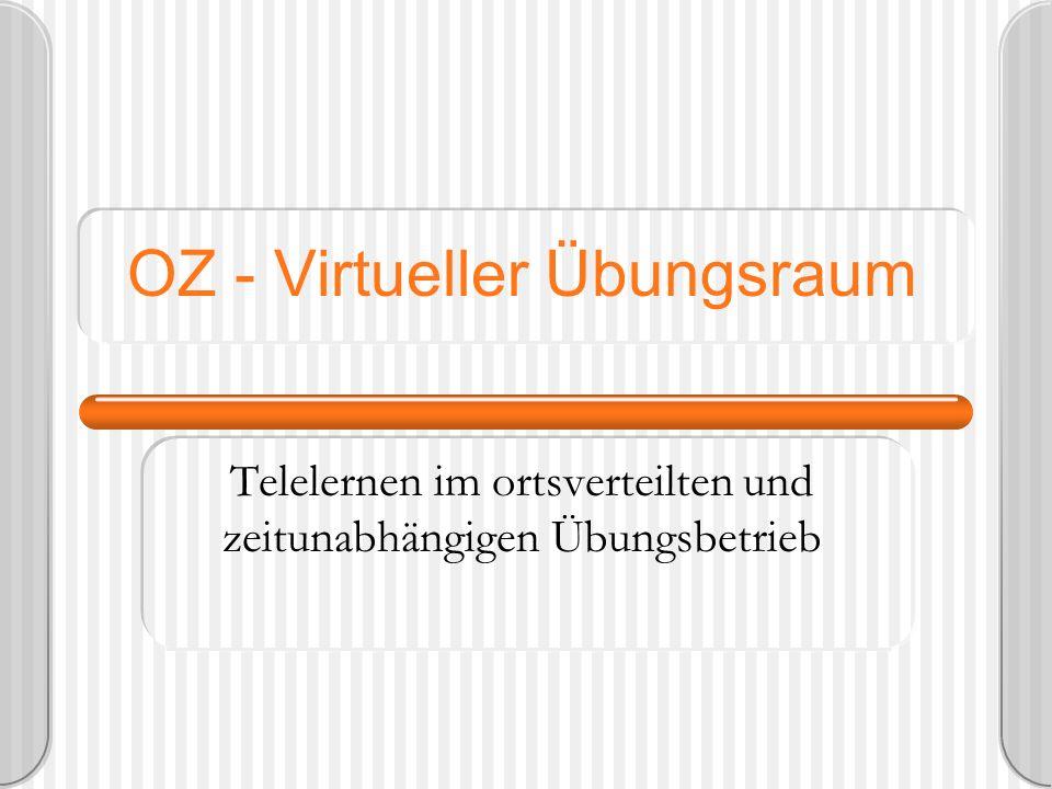 OZ - Virtueller Übungsraum