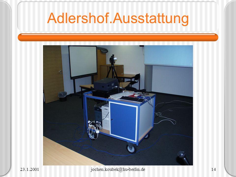 Adlershof.Ausstattung