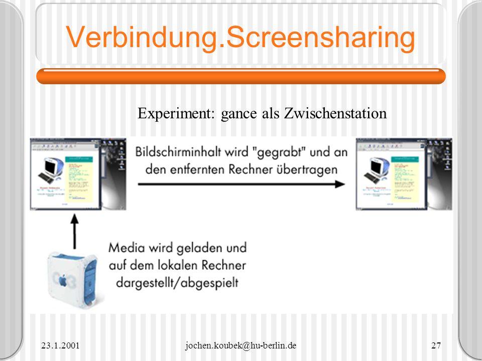 Verbindung.Screensharing