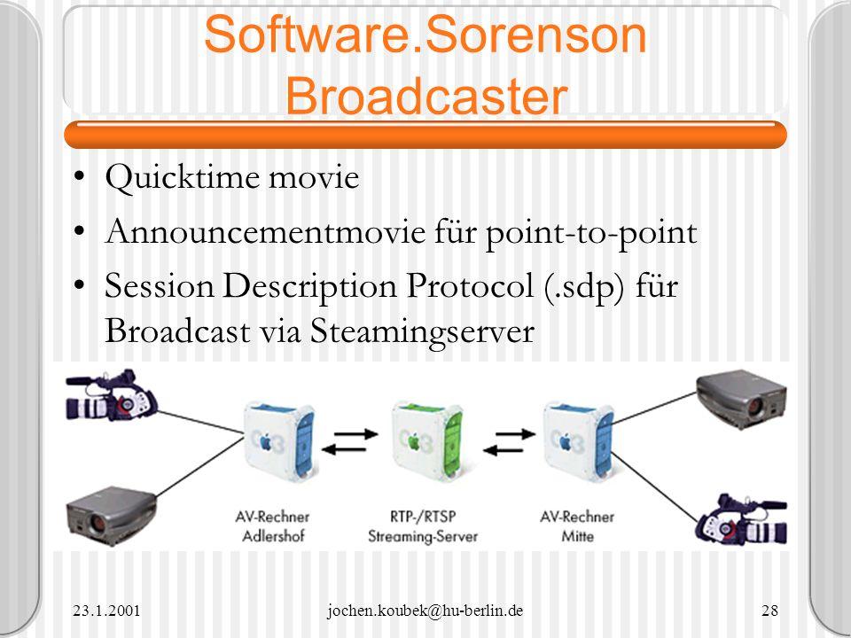 Software.Sorenson Broadcaster
