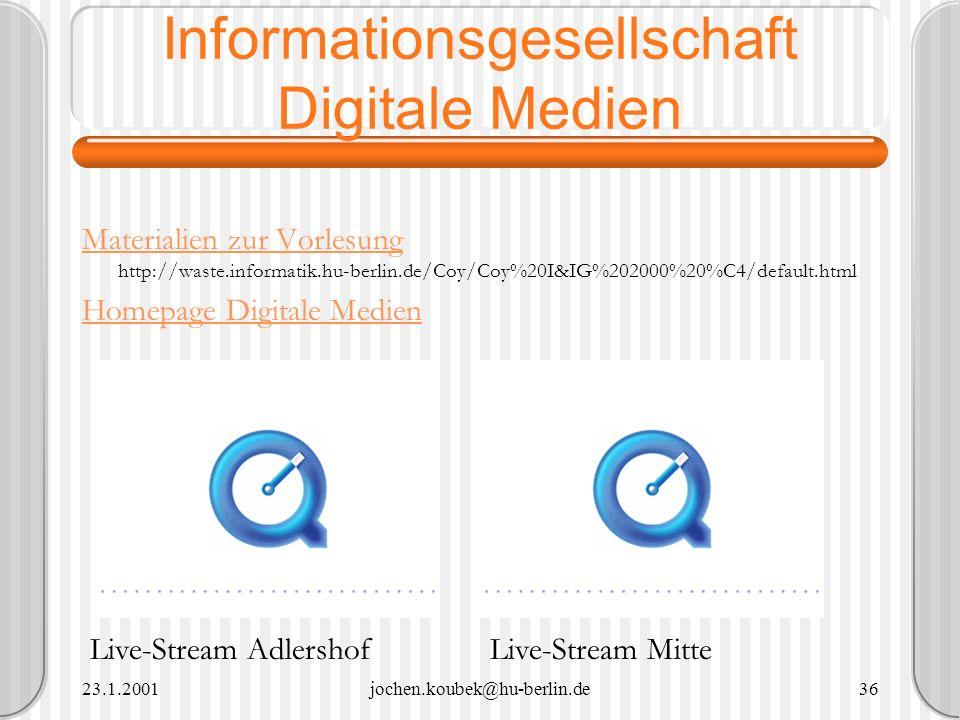 Informationsgesellschaft Digitale Medien