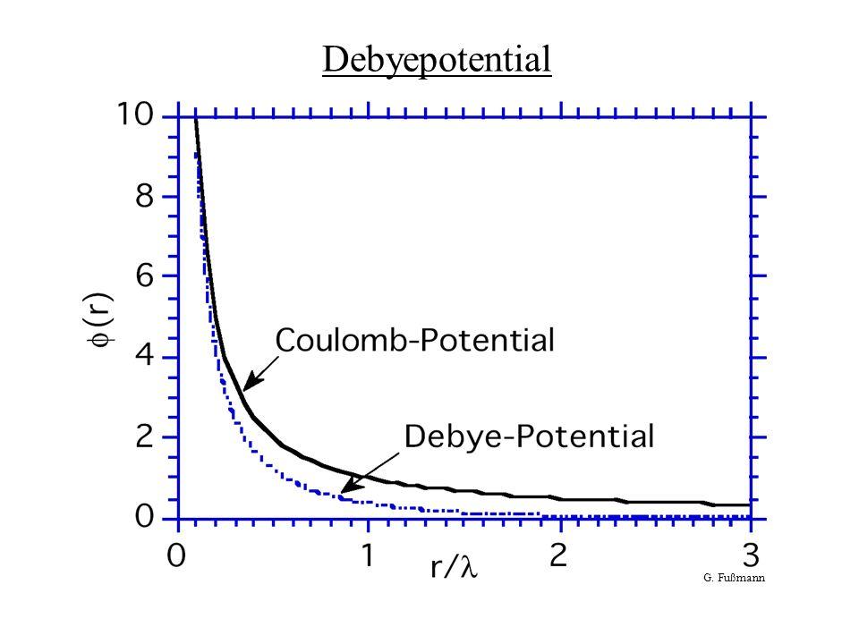 Debyepotential G. Fußmann