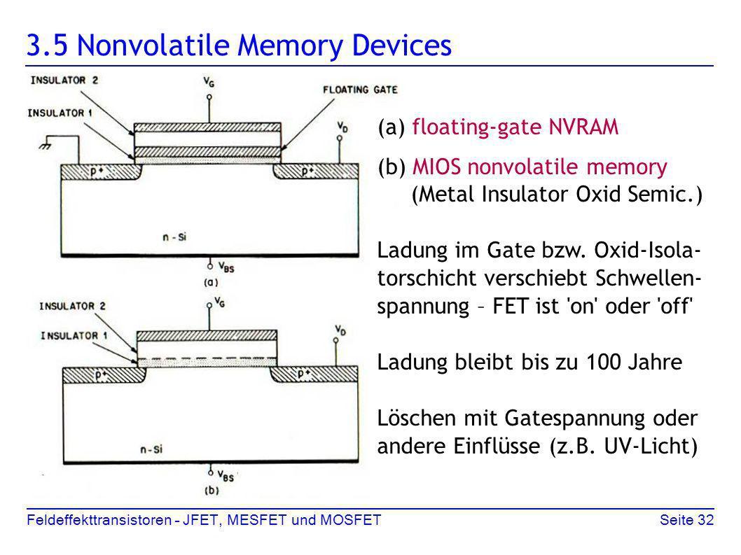 3.5 Nonvolatile Memory Devices