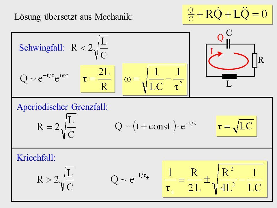 Lösung übersetzt aus Mechanik: