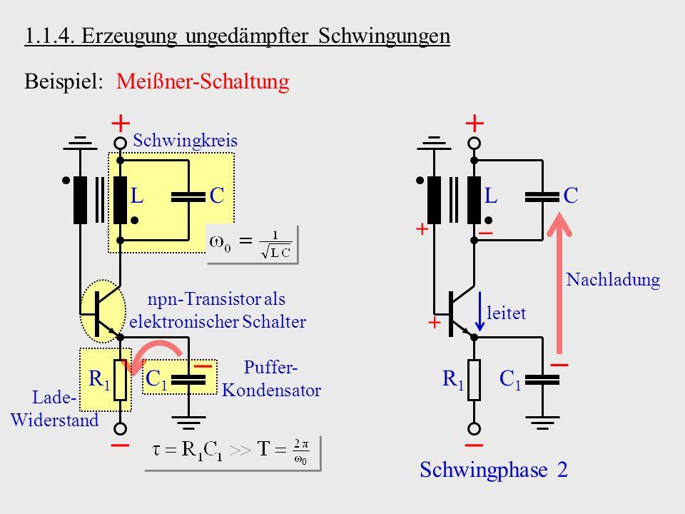npn-Transistor als elektronischer Schalter