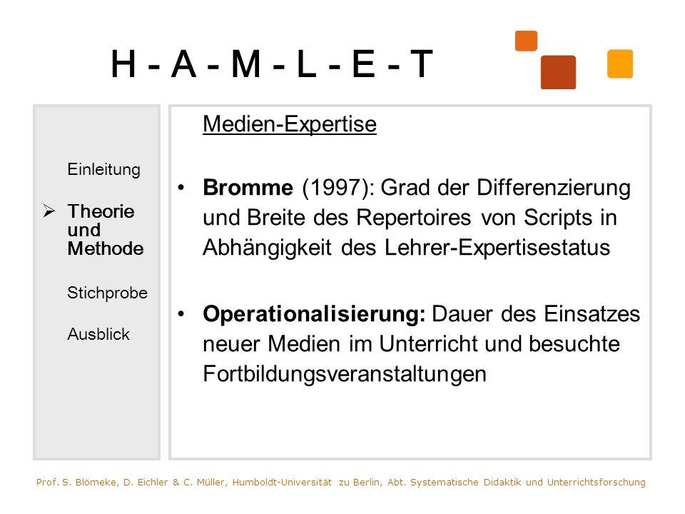 H - A - M - L - E - T Medien-Expertise