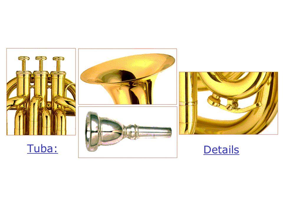 Tuba: Details Details