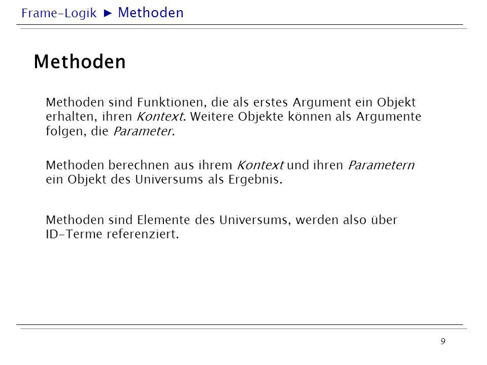 ▶ MethodenMethoden.