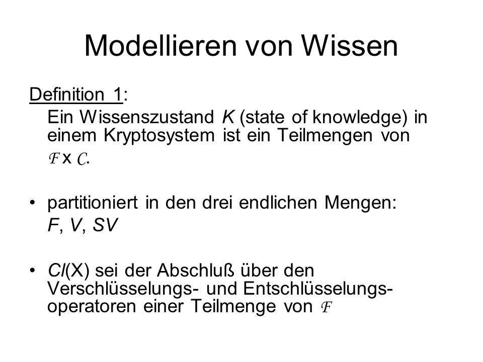 Modellieren von Wissen