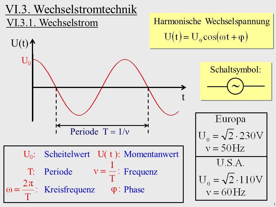 Harmonische Wechselspannung - ppt herunterladen