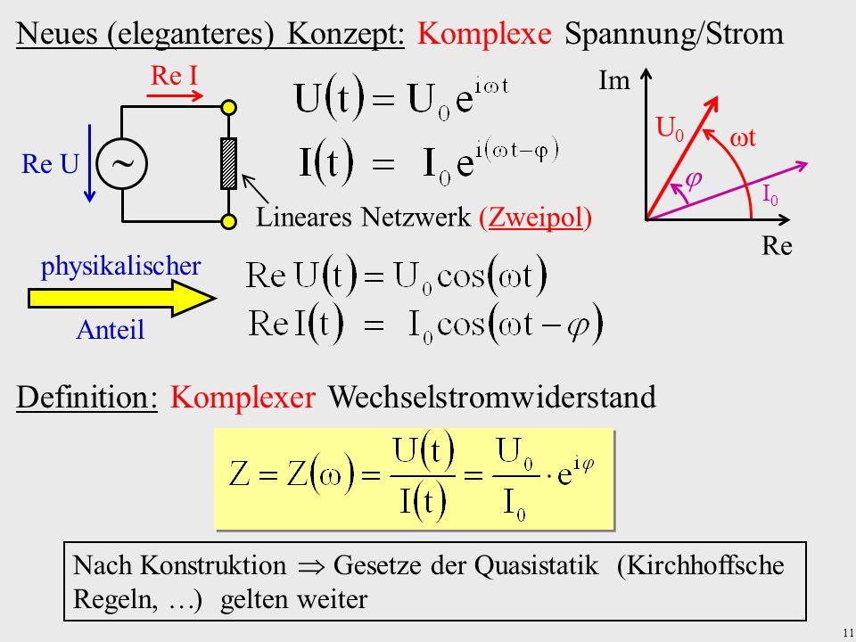 Lineares Netzwerk (Zweipol)