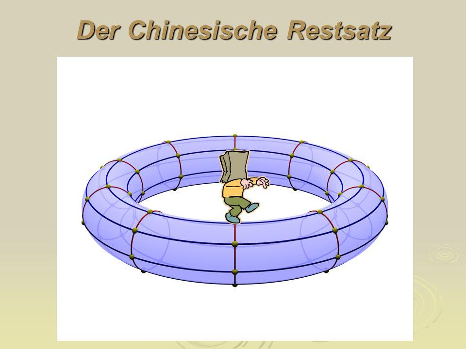 Der Chinesische Restsatz