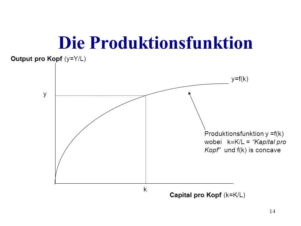 Die Produktionsfunktion