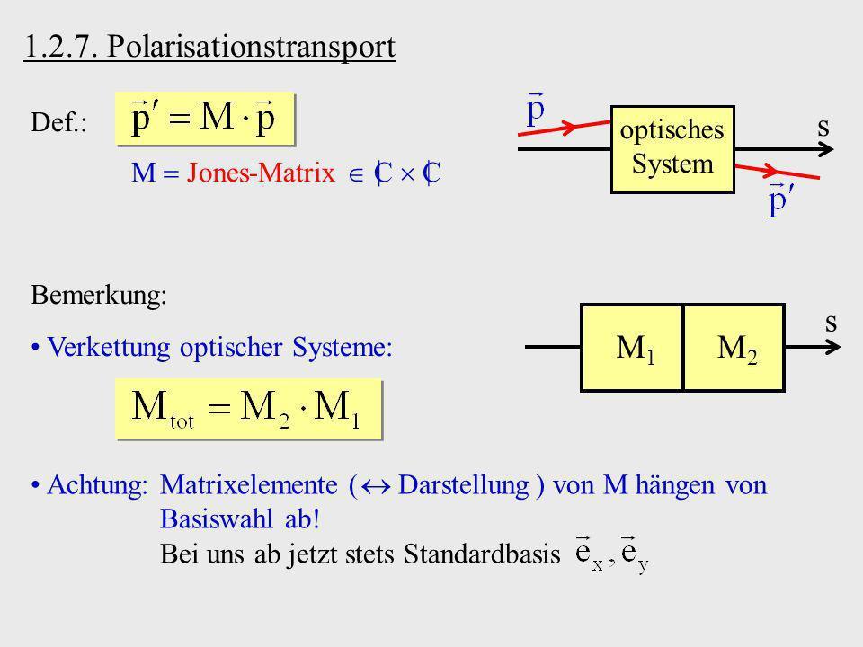 1.2.7. Polarisationstransport