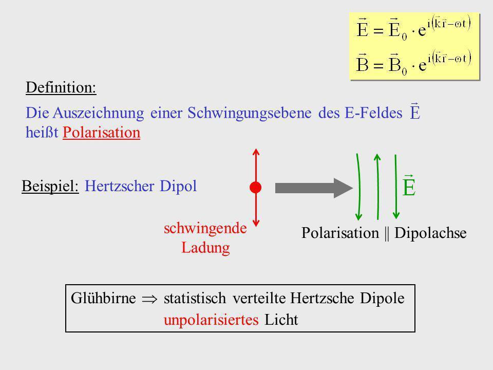 Polarisation || Dipolachse