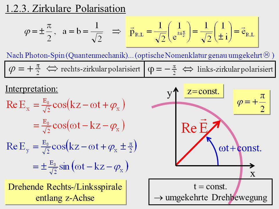 1.2.3. Zirkulare Polarisation
