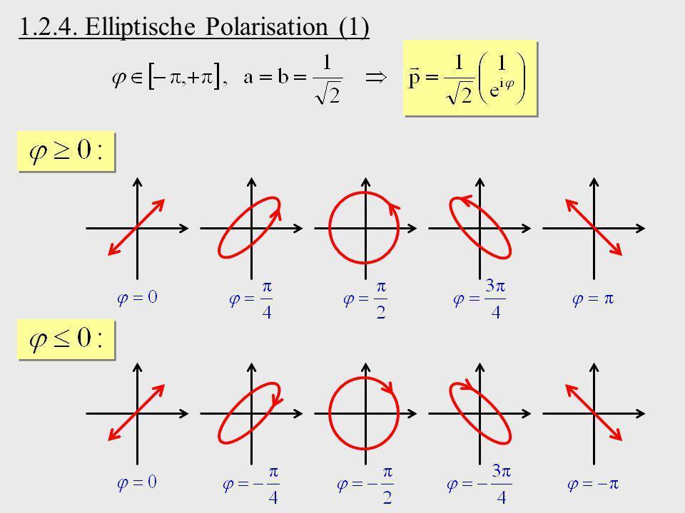 1.2.4. Elliptische Polarisation (1)