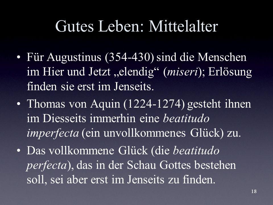 Gutes Leben: Mittelalter