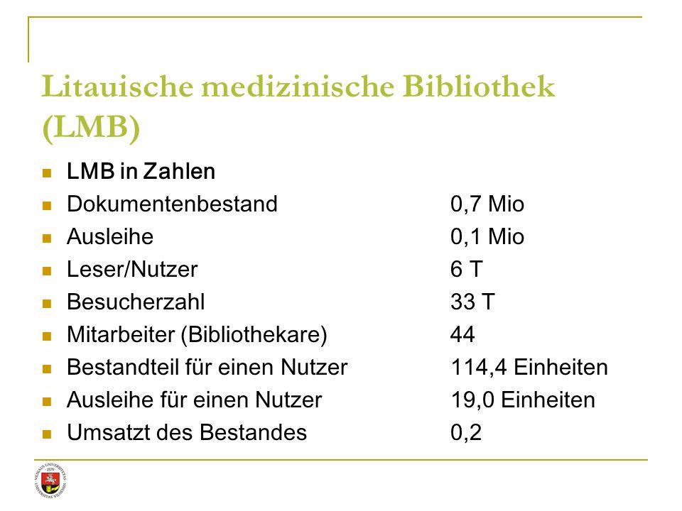Litauische medizinische Bibliothek (LMB)