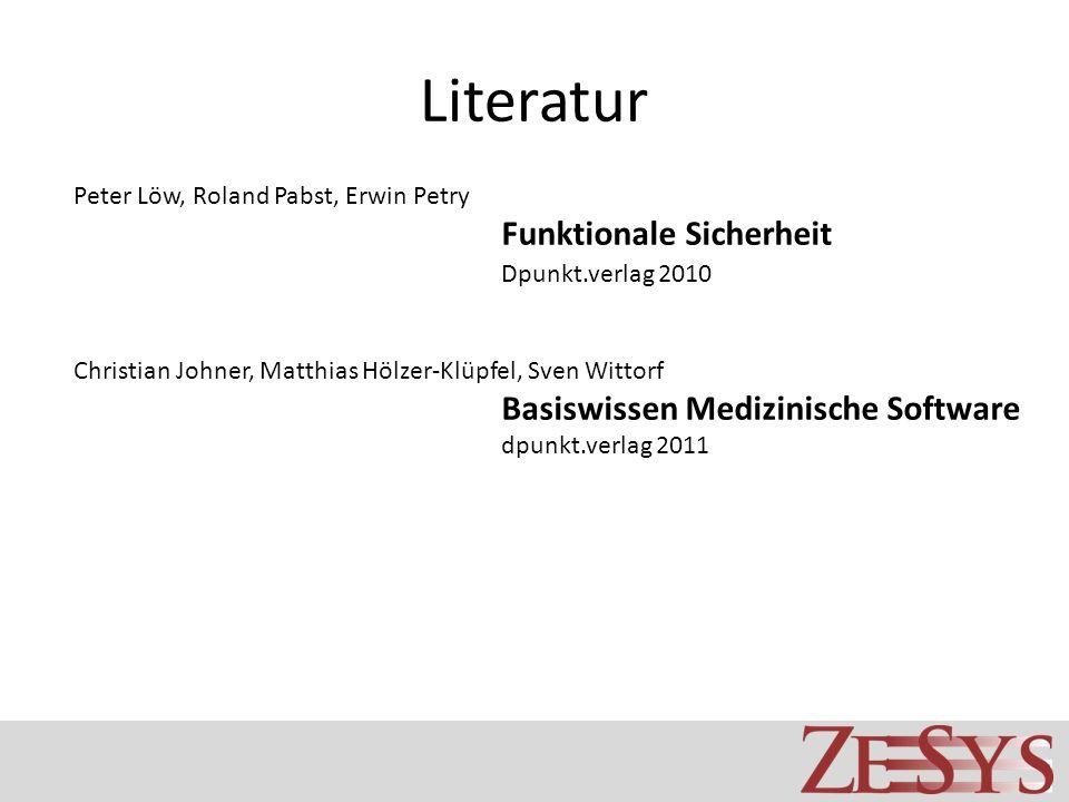 Literatur Dpunkt.verlag 2010 Peter Löw, Roland Pabst, Erwin Petry