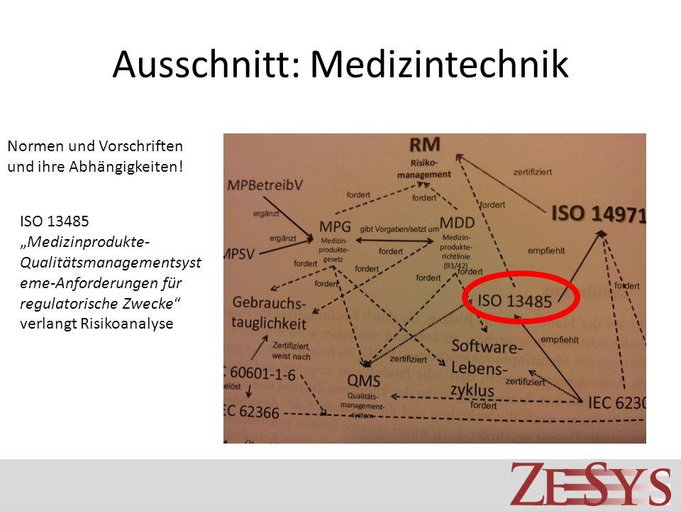 Ausschnitt: Medizintechnik