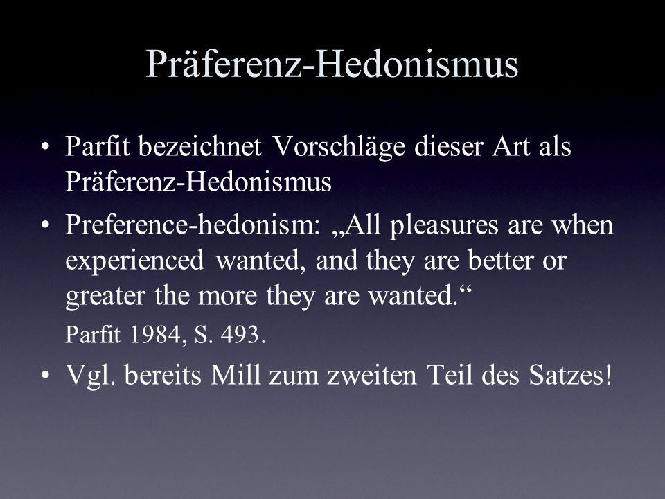 Präferenz-Hedonismus