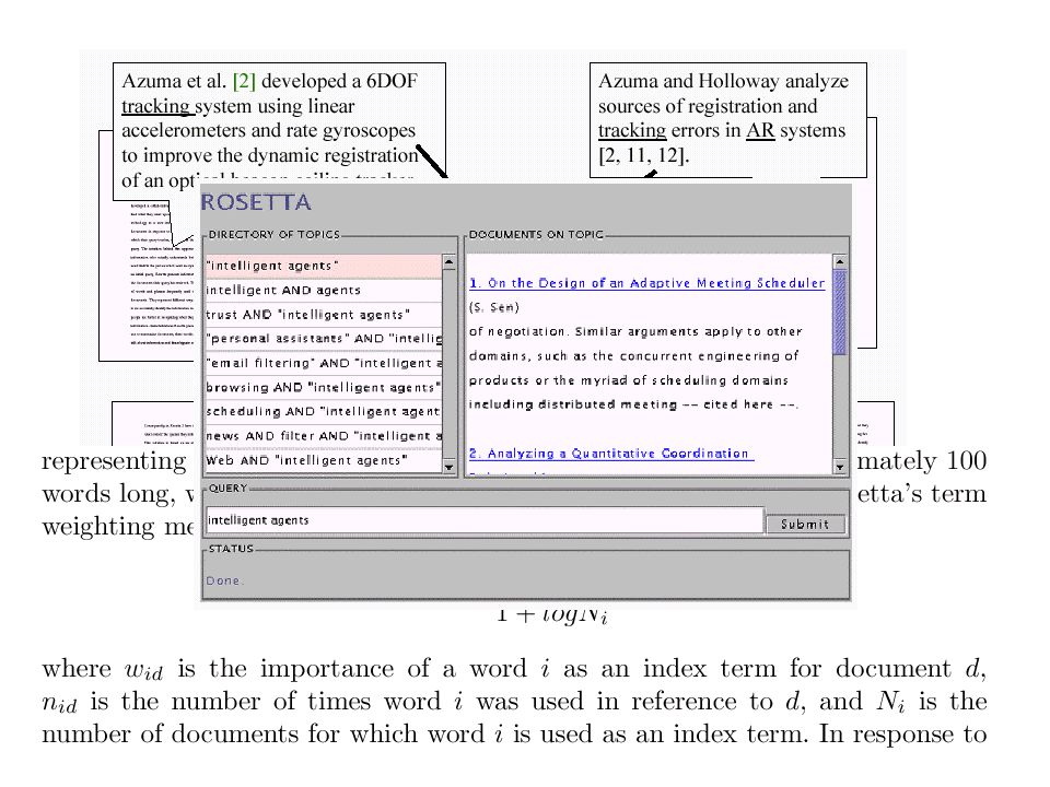 Reference Directed Indexing: Redeeming Relevance for Subject Search in Citation Indexes, Proceedings of the 7th European Conference on Research and Advanced Technology for Digital Libraries, 2003.