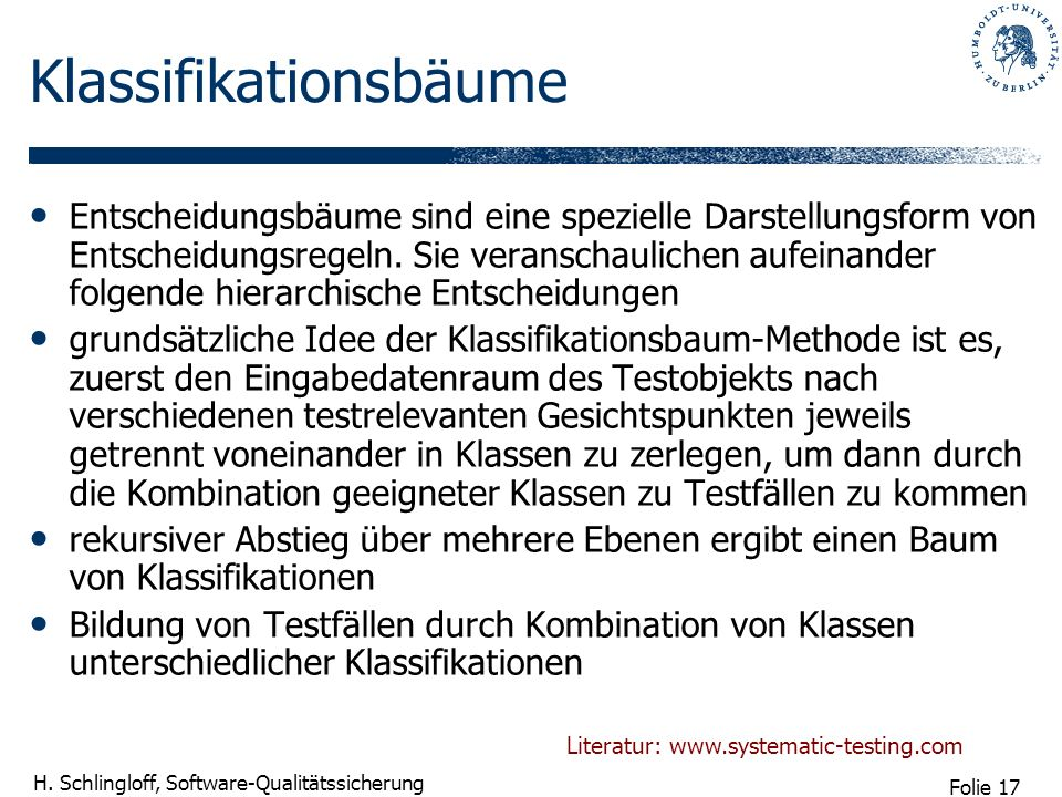 Klassifikationsbäume