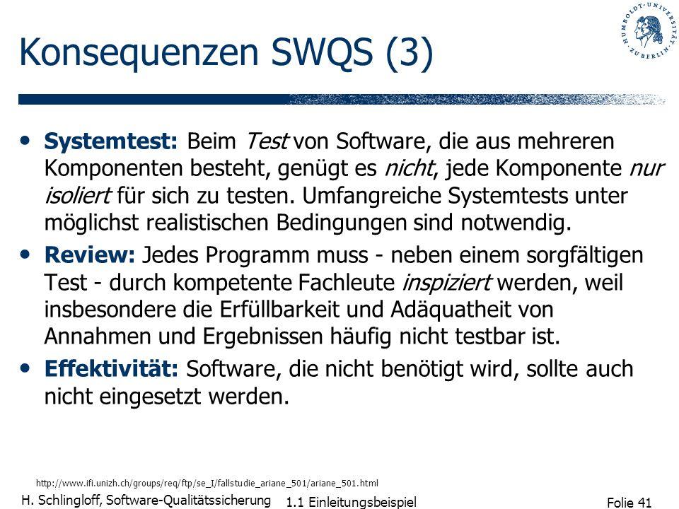 Konsequenzen SWQS (3)