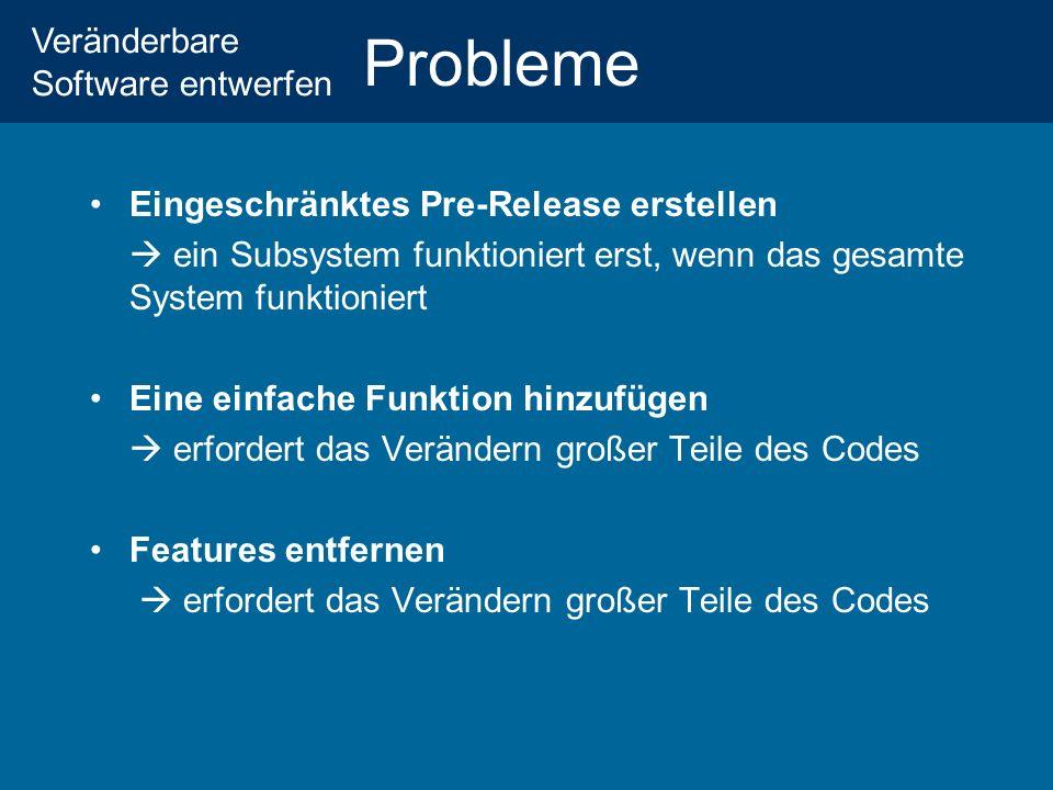 Probleme Eingeschränktes Pre-Release erstellen
