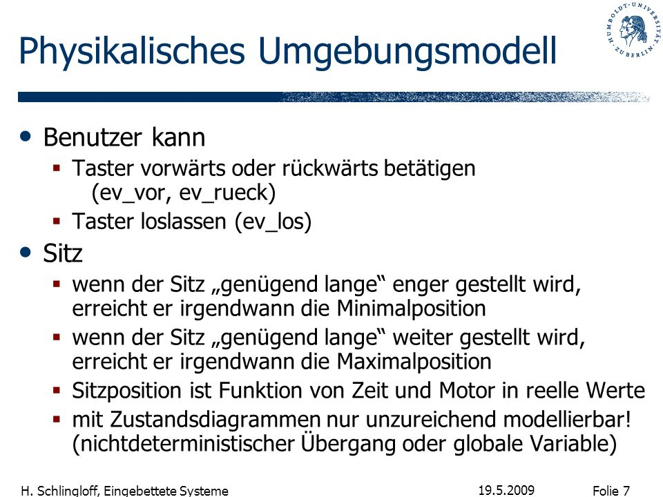 Physikalisches Umgebungsmodell