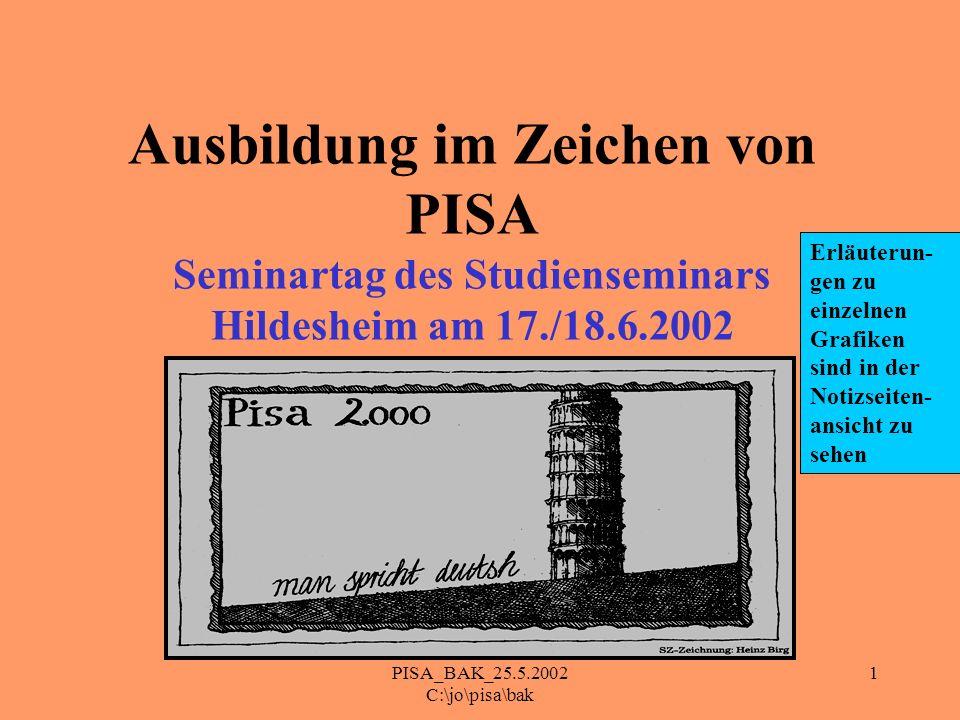 PISA_BAK_25.5.2002 C:\jo\pisa\bak