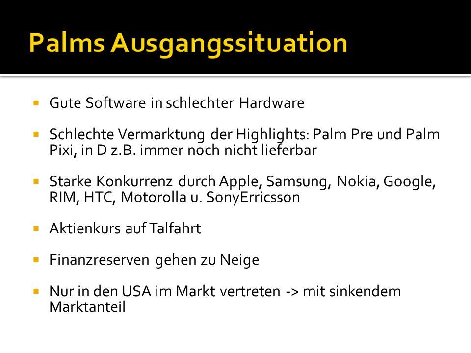 Gute Software in schlechter Hardware