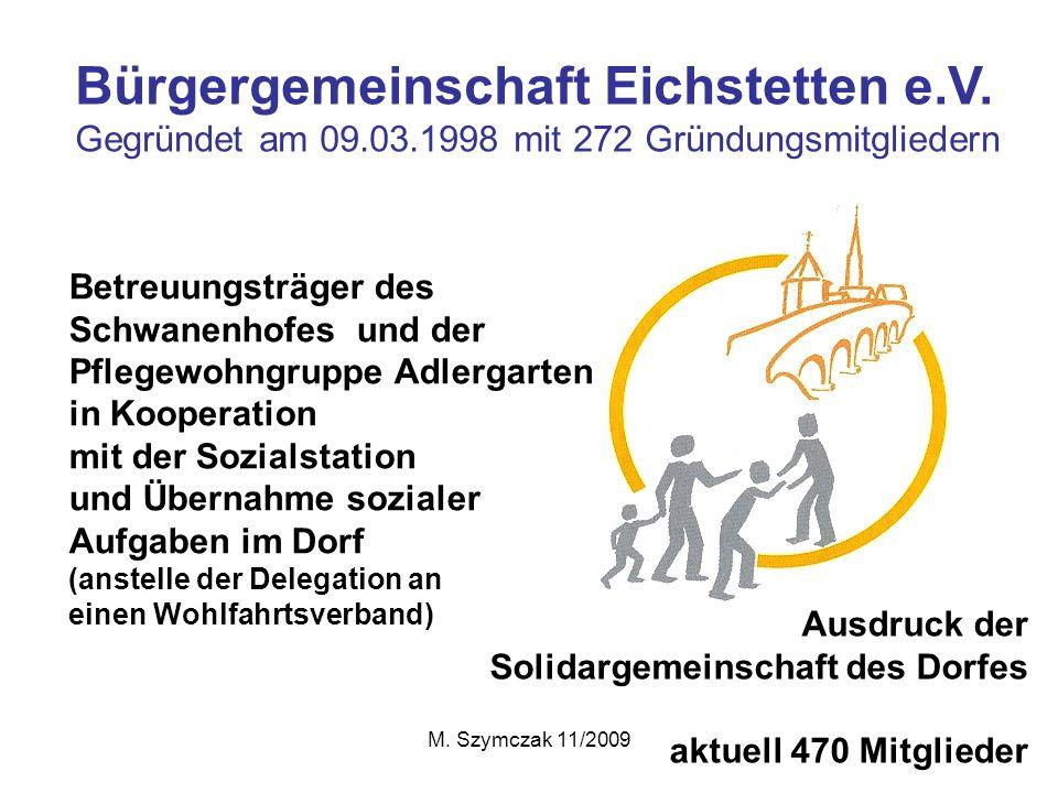 Bürgergemeinschaft Eichstetten e.V.