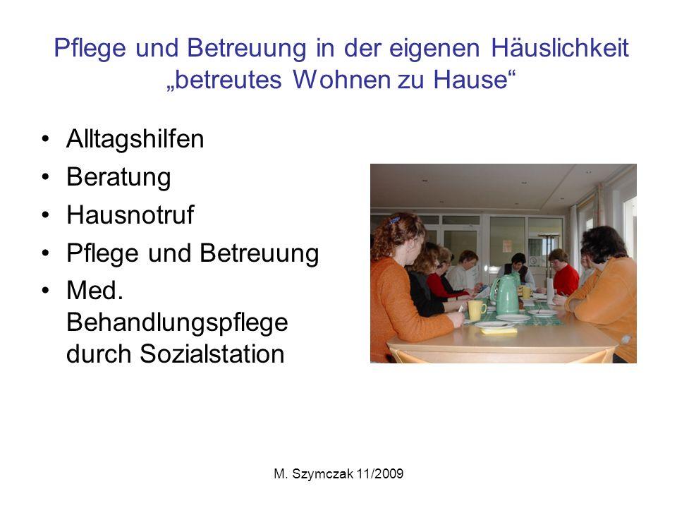 Med. Behandlungspflege durch Sozialstation