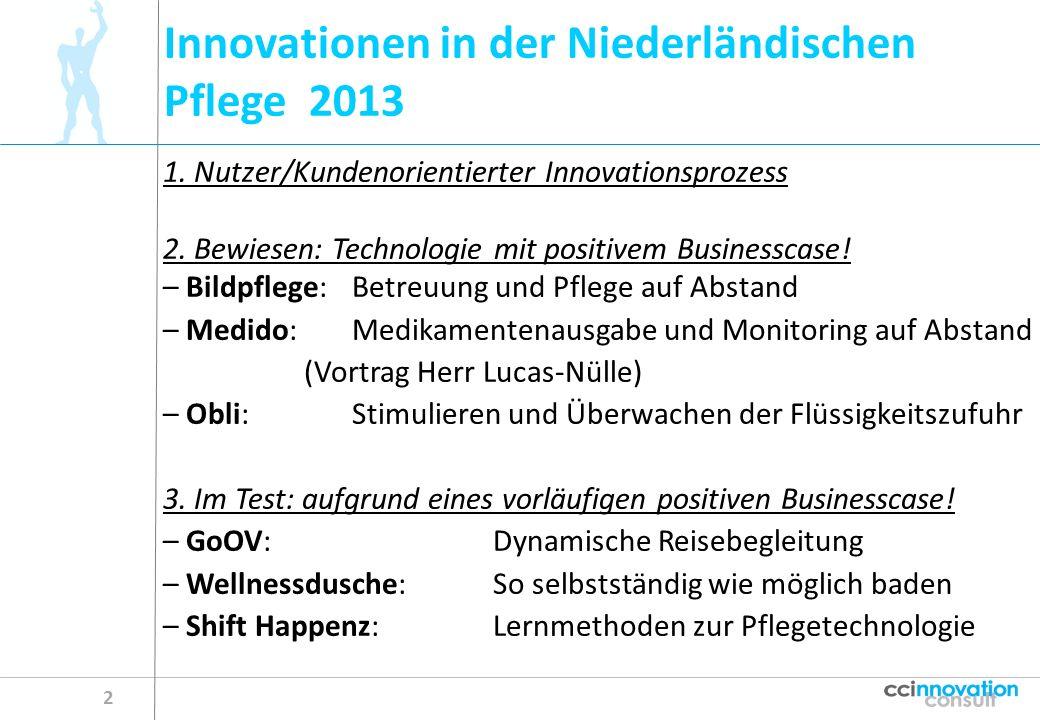 Innovationen in der Niederländischen Pflege 2013