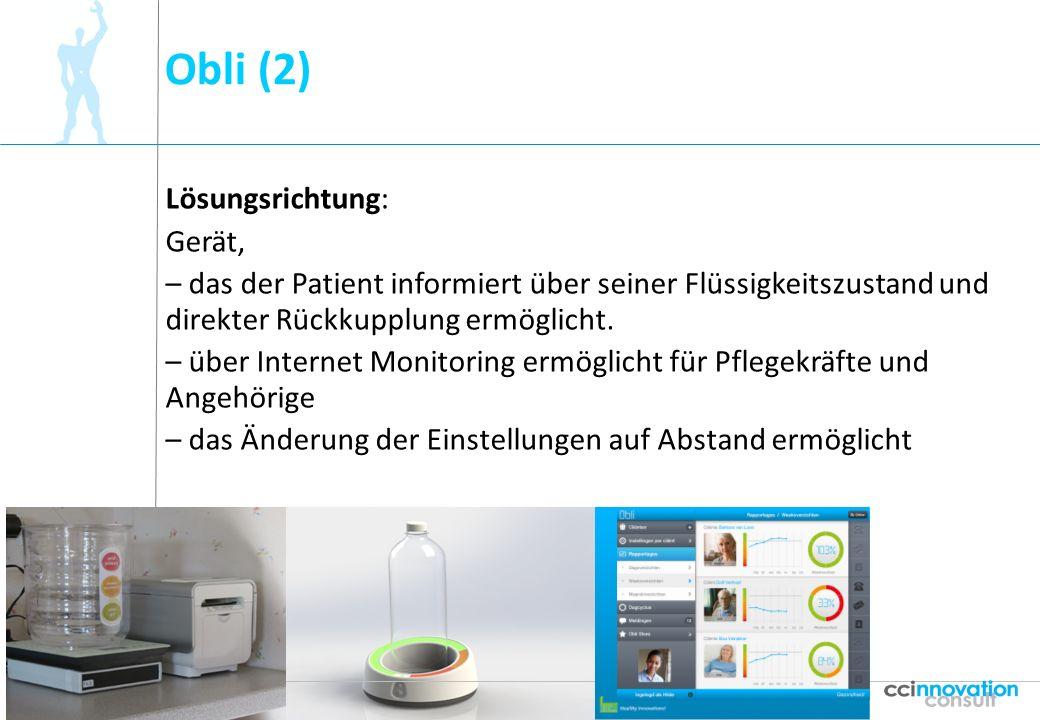 Obli (2) Lösungsrichtung: Gerät,