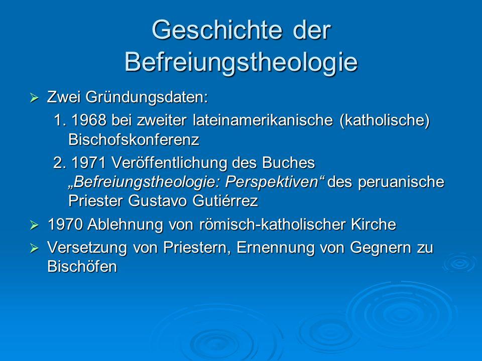 Geschichte der Befreiungstheologie