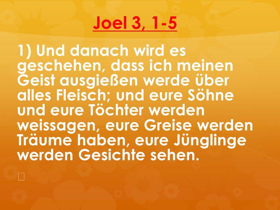 Joel 3, 1-5