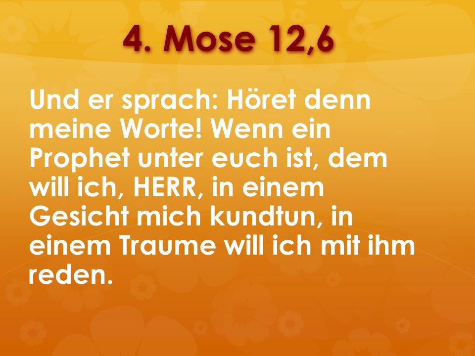 4. Mose 12,6