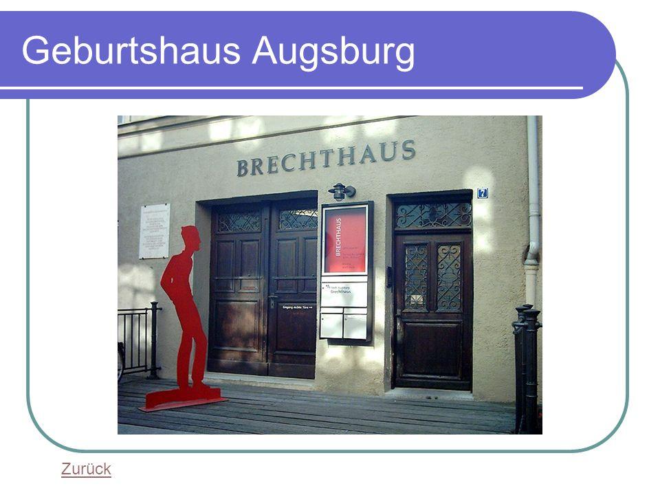 Geburtshaus Augsburg Zurück