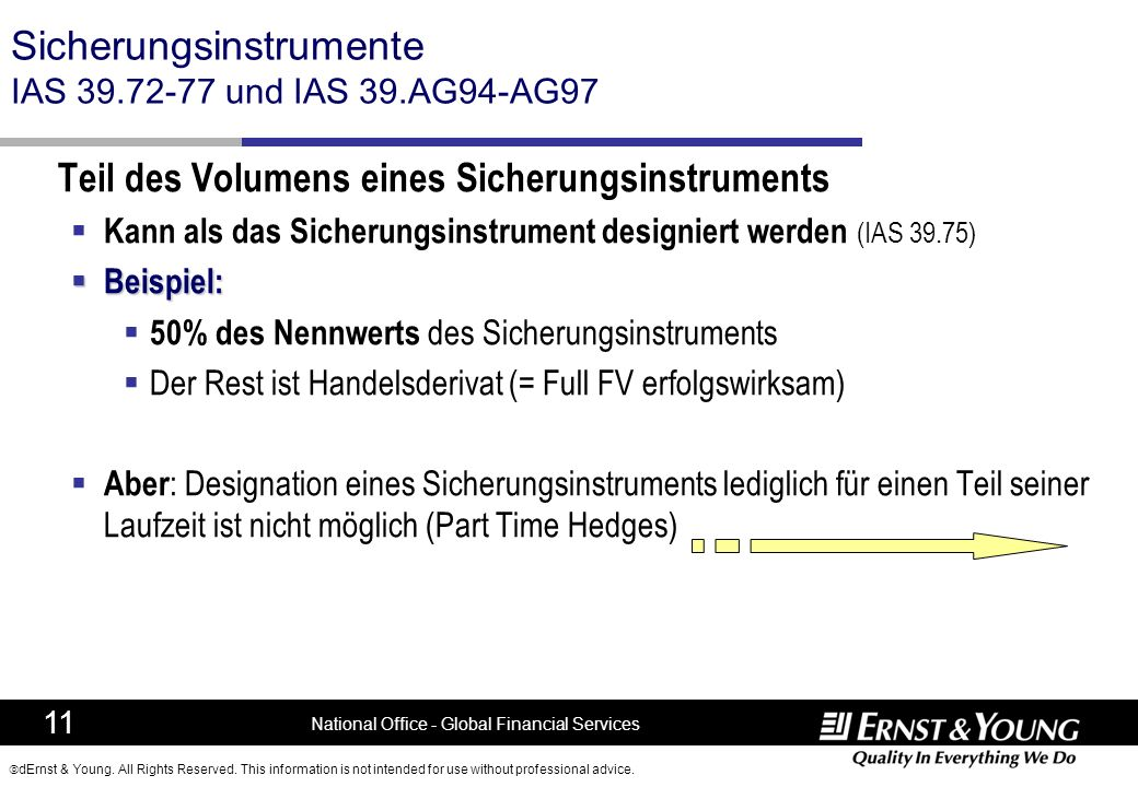 Sicherungsinstrumente IAS 39.72-77 und IAS 39.AG94-AG97