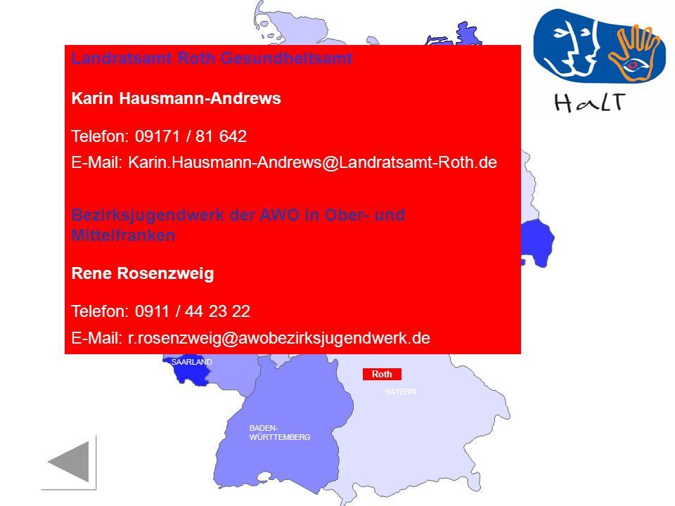 Landratsamt Roth Gesundheitsamt Karin Hausmann-Andrews