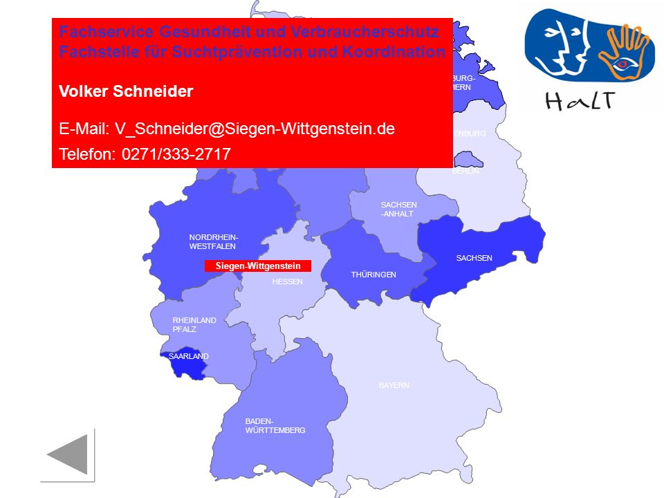 E-Mail: V_Schneider@Siegen-Wittgenstein.de Telefon: 0271/333-2717