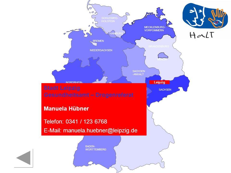 Stadt Leipzig Gesundheitsamt – Drogenreferat