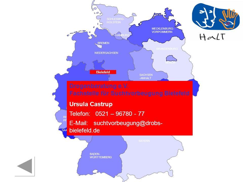 Drogenberatung e.V. Fachstelle für Suchtvorbeugung Bielefeld