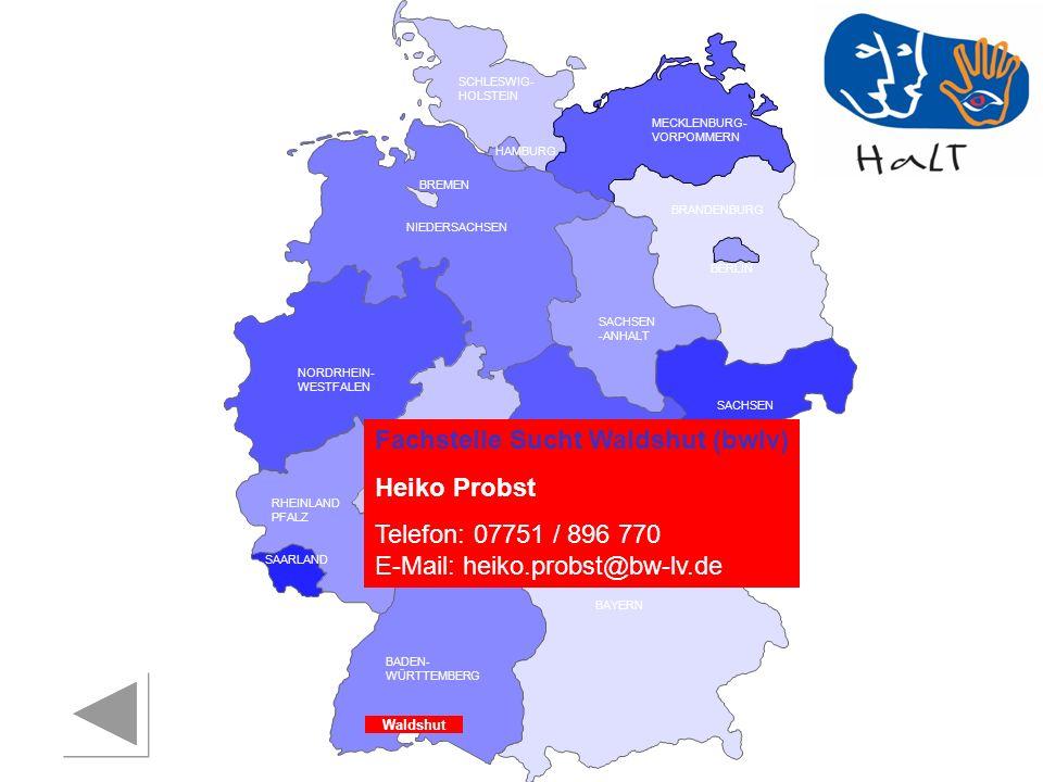 Fachstelle Sucht Waldshut (bwlv) Heiko Probst