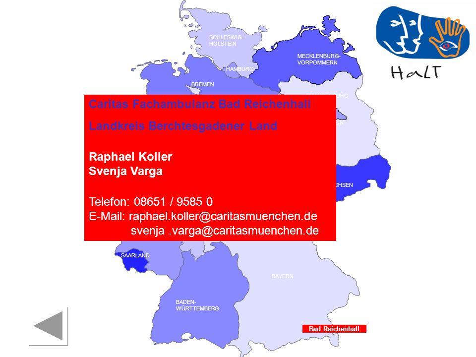 Caritas Fachambulanz Bad Reichenhall Landkreis Berchtesgadener Land