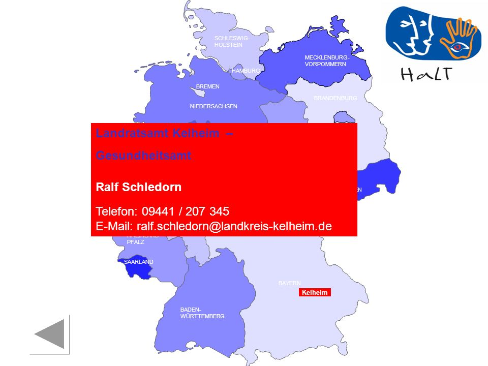 Landratsamt Kelheim – Gesundheitsamt Ralf Schledorn Kelheim