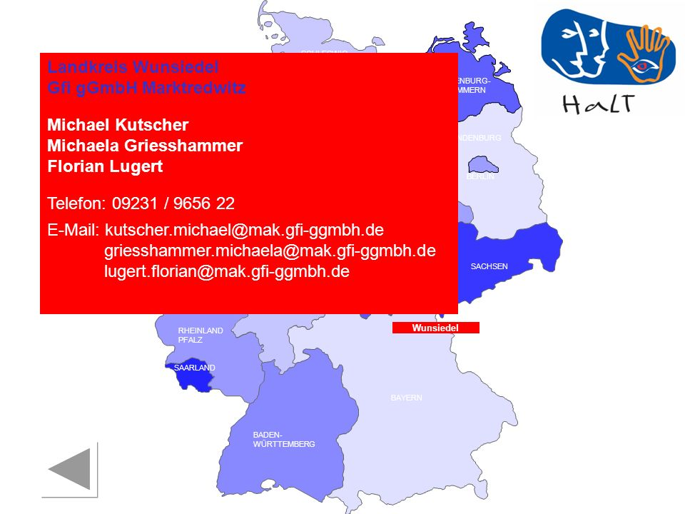Landkreis Wunsiedel Gfi gGmbH Marktredwitz